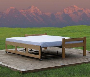 die besten 25 ausziehbett ideen auf pinterest ausziehbare sofas ersatzraum b ro und liege. Black Bedroom Furniture Sets. Home Design Ideas