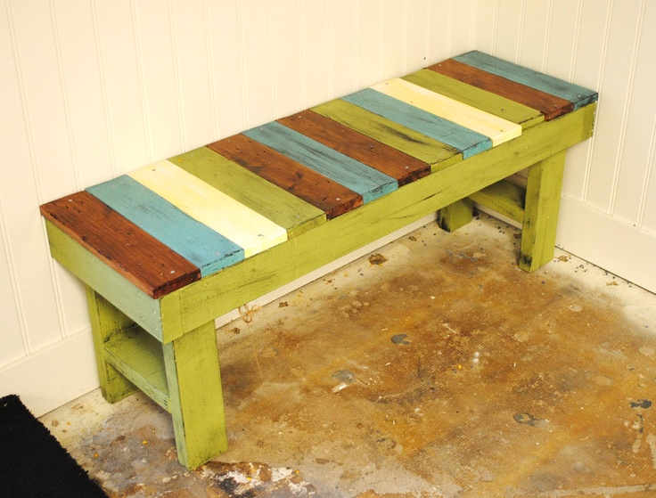 Entry Bench -On Sale Now-. $155.00, via Etsy.