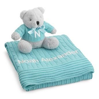 83 best blue green orange baby shower theme images on pinterest design your own embroidered cable knit baby blankets at things remembered find a variety of personalized baby blankets that are sure to please negle Choice Image