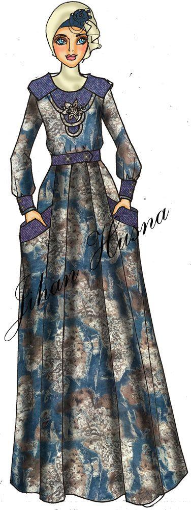 Desain Baju Muslim