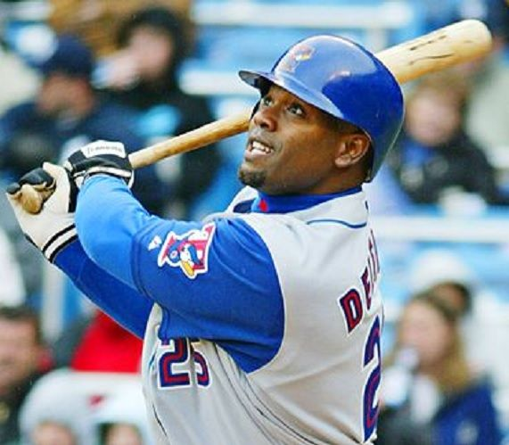 Carlos Delgado.  Blue Jays.   Has some of the best batting statistics in baseball since Babe Ruth.