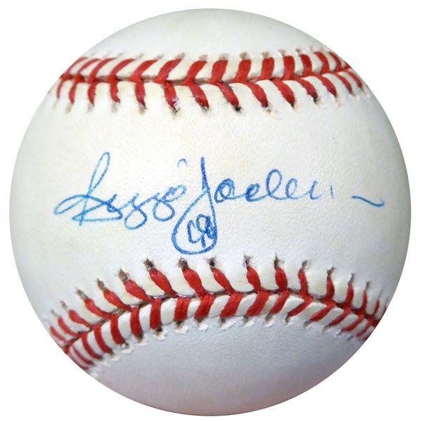 Reggie Jackson Autographed Official AL Baseball Yankees, A's Beckett BAS #C01770