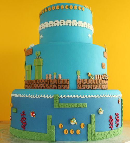 Super Mario Bros. Cake | Cakecrumbs