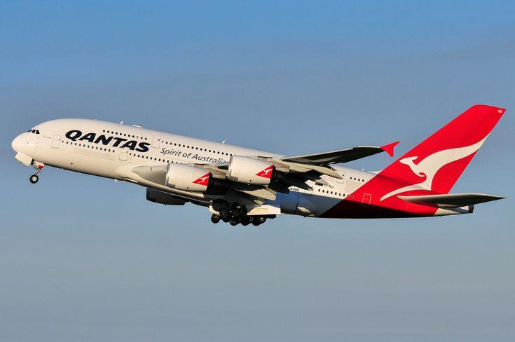 Qantas A380 'The Spirit of Australians' VH-OQK