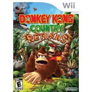 Donkey Kong Country Returns --- http://www.amazon.com/Donkey-Kong-Country-Returns-Nintendo-Wii/dp/B003ZHMMEM/?tag=zaheerbabarco-20