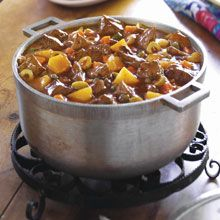 Carne Guisada Recipe - Beef and Potato Stew | GOYA....My Mom made this a lot when I was young...I do the chicken variation...