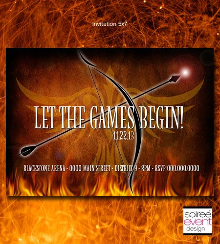 34 best homecoming 2014 images on pinterest the hunger games cannot wait to see the newest catching fire hunger games movie coming check out this hunger games inspired invitation i call fire games stopboris Choice Image