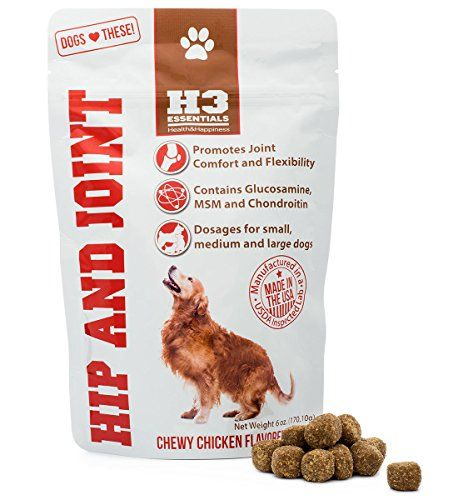 Glucosamine for Dogs - Dog Supplements for Joints with Glucosamine, Chondroitin, MSM for Maximum Mobility, Pain Relief, Hip and Joint Health H3 Essentials http://www.amazon.com/dp/B00KLL2BH8/ref=cm_sw_r_pi_dp_djMywb0PBKTZV