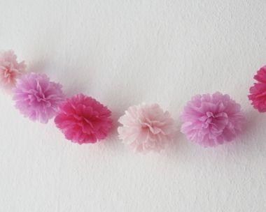Pompom-Girlande - Little Princess