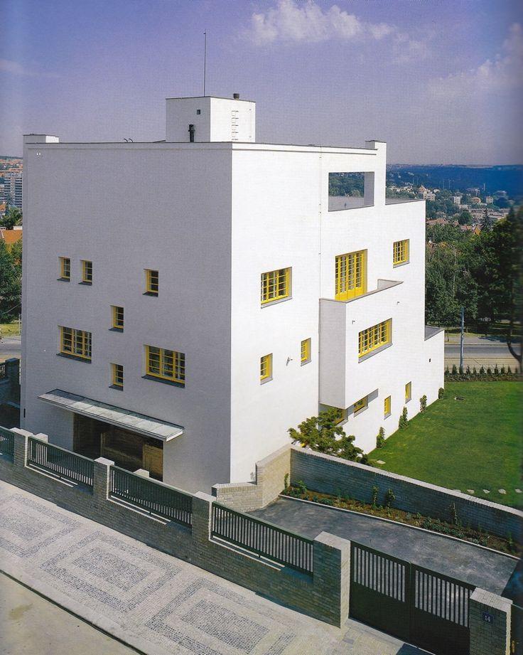 Adolf Loos, Villa Muller, 1928-1930.