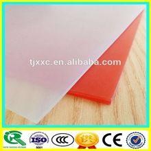 fonte da fábrica de qualidade superior de borracha de silicone transparente folha