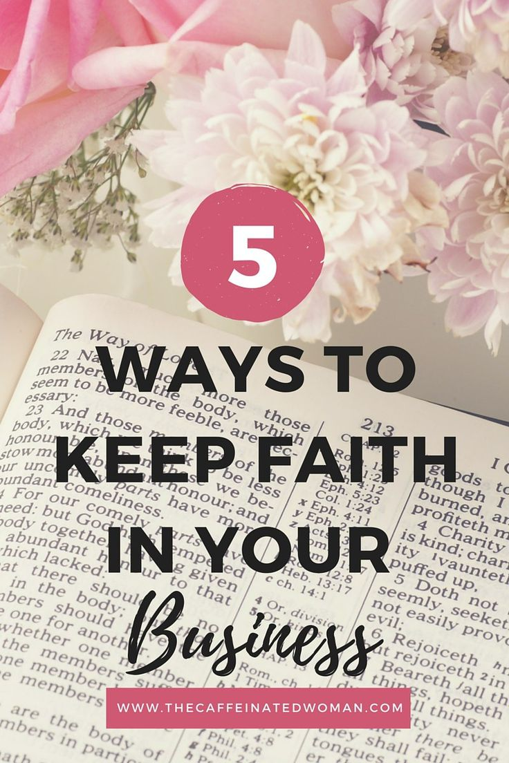 Succeed by Keeping God in Your Business