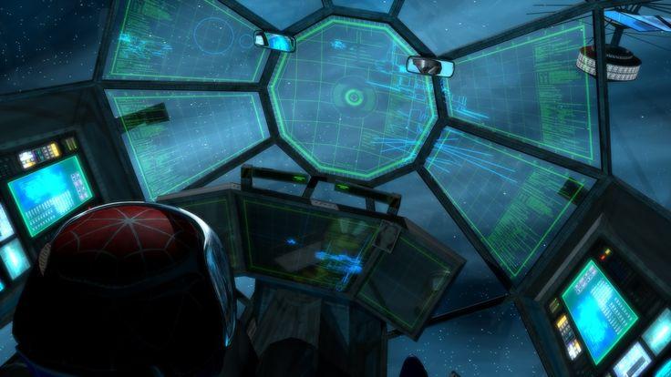 sci fi spacecraft cockpit single person - photo #43