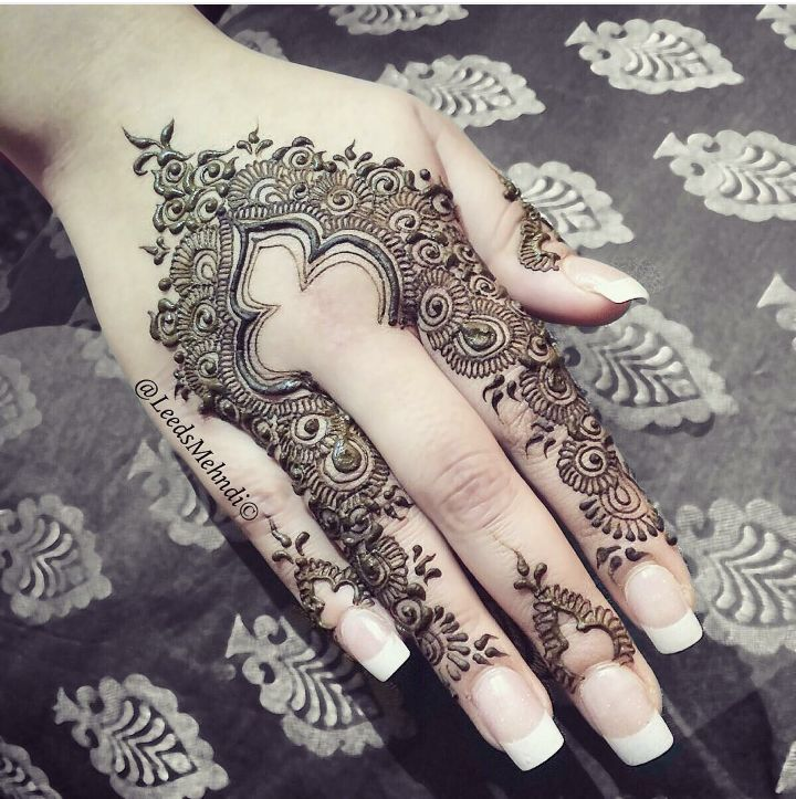 Cute Eid henna design