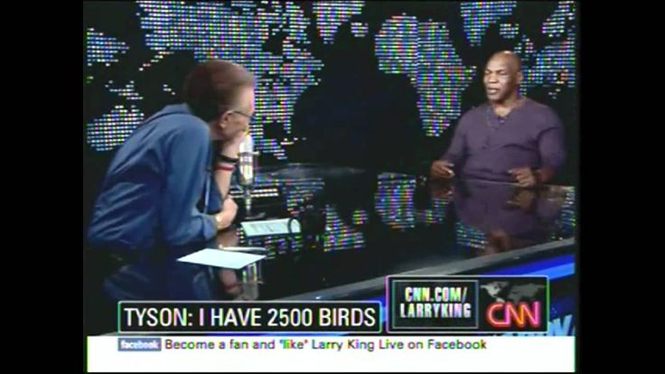 Larry King Live - Mike Tyson 2010 pt. 1/3