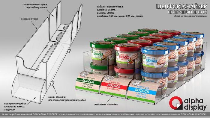 Food. Uniconf, Meridian, Agama, Cocon. Floor & Shelf Displays. by Julia Leontyeva at Coroflot.com