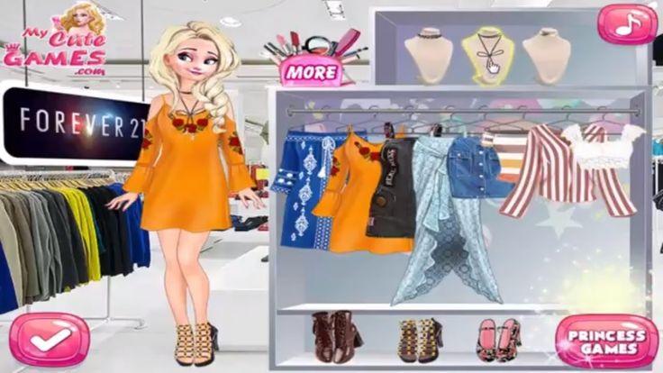Disney Frozen Games - Top Teen Brands Princess Choice - Elsa डिज्नी फ्रो...