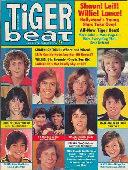 Tiger Beat - Jimmy McNicol - Scott Baio, Leif Garret