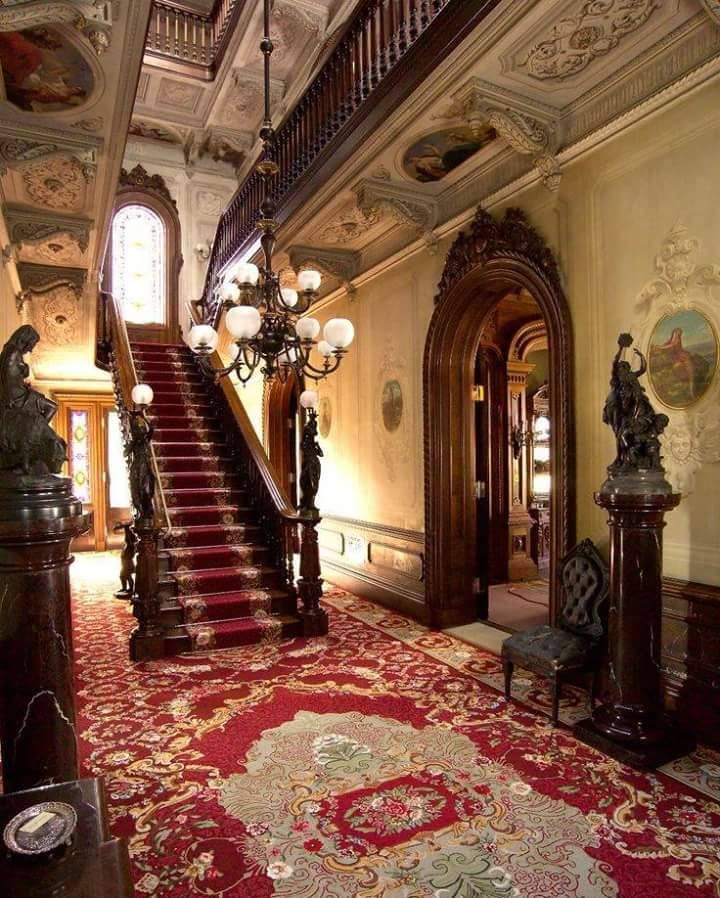 A Portion Of The Entrance To Inside Talbut Home Pikesrunseries Love S Promise Book 6 Pike Run Series In 2018 Victorian