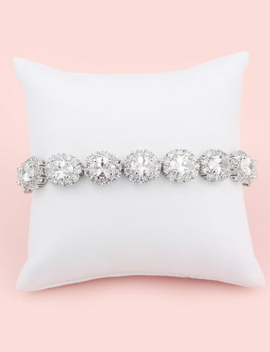 Brooklyn Bridal Bracelet by Kate Ketzal