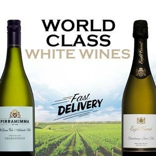 Still paying full price for WORLD CLASS WHITE WINES?