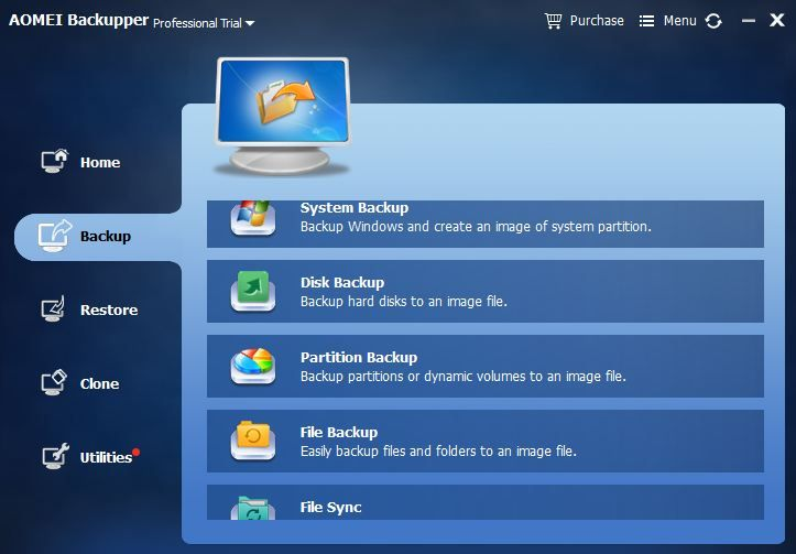 Aomei Backupper Review Free Data Backup Recovery Software System Backup Software Backup