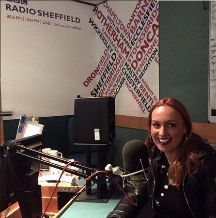 #sheffieldissuper loving being back up north @BBCSheffield pic.twitter.com/ApyBkOjlrJ