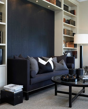 daybed option - with bookcases flanking the daybed or pullout.  Only if the hallway door is closed off......even then not my favorite option.