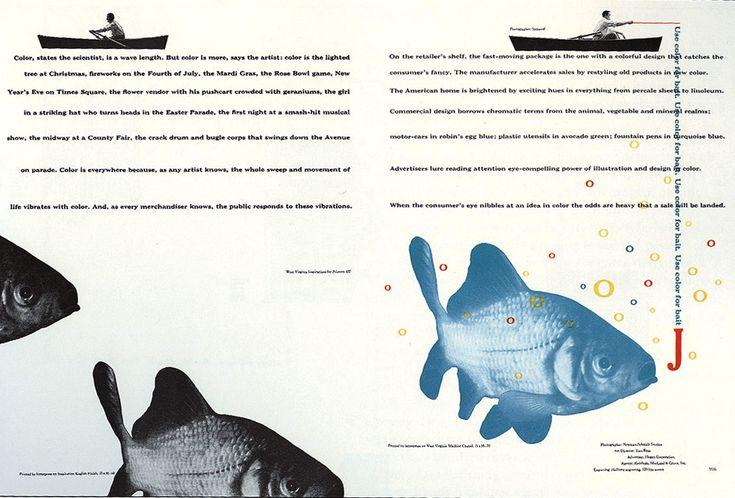 Bradbury Thompson. Diseño Editorial.
