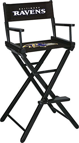 Imperial Officially Licensed NFL Merchandise: Directors Chair (Tall, Bar Height)  https://allstarsportsfan.com/product/imperial-officially-licensed-nfl-merchandise-directors-chair-tall-bar-height/  Take your game to the next level with the officially licensed NFL tall director's chair; Designed with a solid wood frame, contemporary design and heavy duty 16 oz canvas slings Foldable design for easy storage, retrieval and portability; Though foldable, still maintains a we