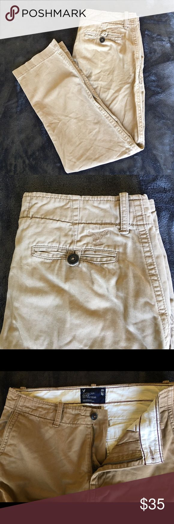 America Eagle 🦅 pants 33x32 America Eagle 🦅 33x32 men's pants.  Soft cotton and in excellent condition. American Eagle Outfitters Pants Chinos & Khakis