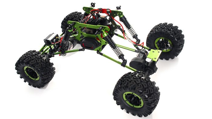 RC Radio Truck 1/10 Scale Exceed RC Mad Crawler 4WD RTR Remote Control Truck RC Remote Control