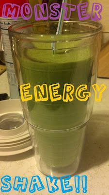 SUPER DOOPER SMOOTHIE!!!   Drank this today and it got me thorugh my 12 hour school day with no problems! And its great for detoxing as well as it is rich in fiber!! woo hooo for no toxins and lots of energy!!