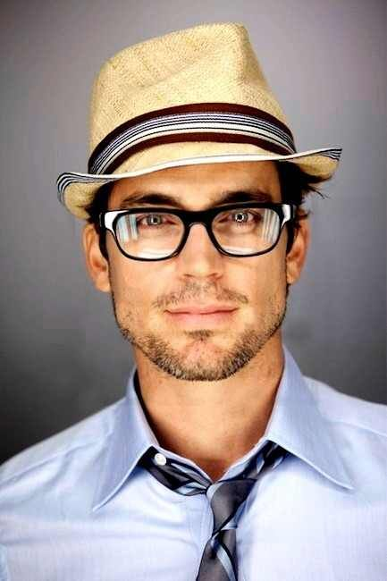 Men with geek glasses, fadora's, ties and beards??? I couldn't resist even a little bit!