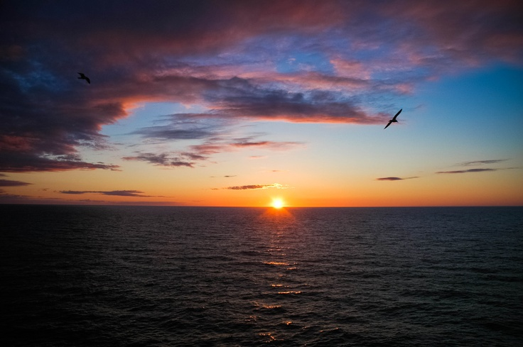 Best sunsets are found in the heart of Cape Breton.