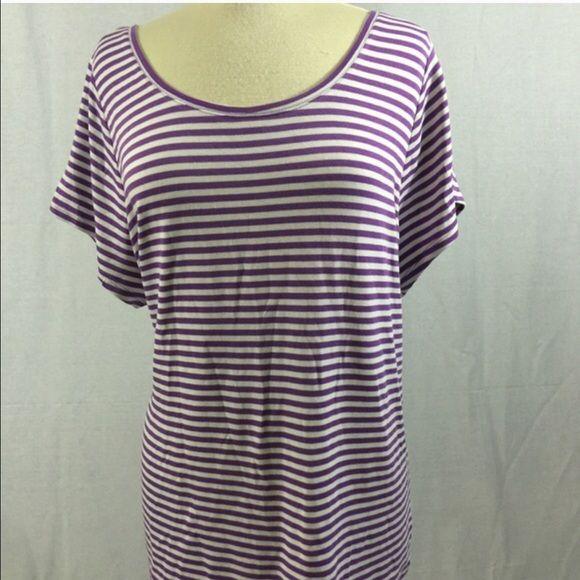 NEWPlus Suze 22W - Lane Bryant Striped T-Shirt NWT Lane Bryant stripped T Shirt Lane Bryant Tops Tees - Long Sleeve