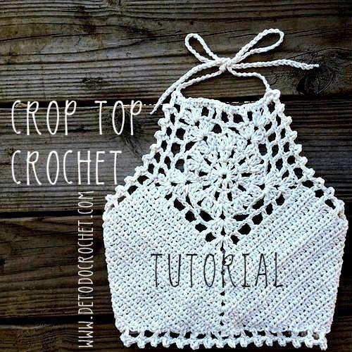 Crochet Crop Top Tutorial