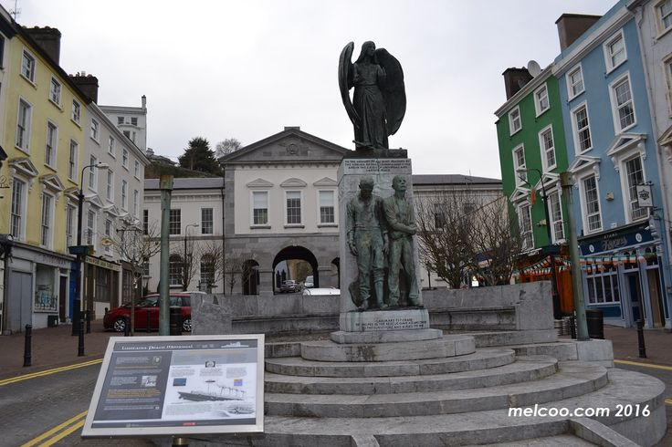 Lusitania memorial in Cobh, Cork.