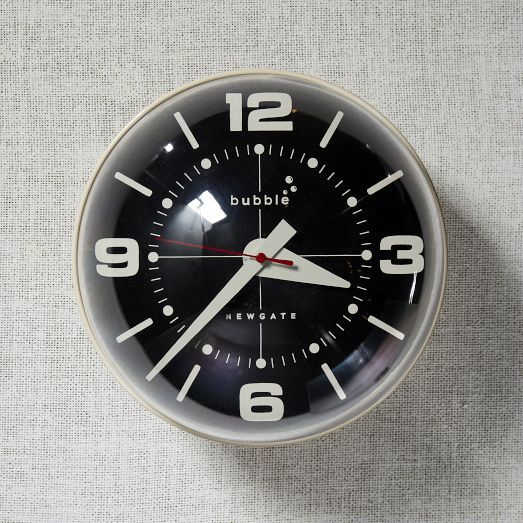 Atomic Age Wall Clocks Ретрофутуризм Retrofuturism