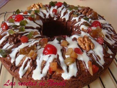 Budín con Frutas Navideño | Las Recetas de Norali