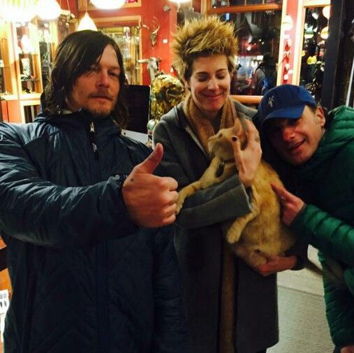 Norman, King Midas, Andy and his wife.