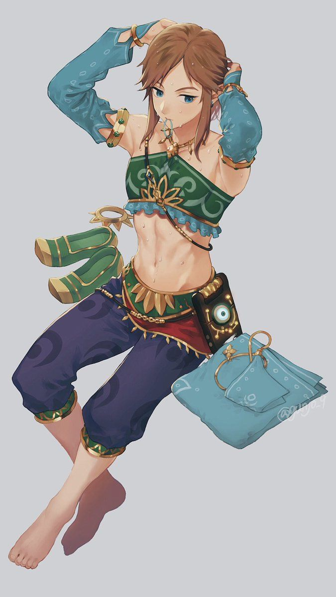 70229e279c74b Link is best girl The Legend Of Zelda, Legend Of Zelda Breath, Gerudo Link