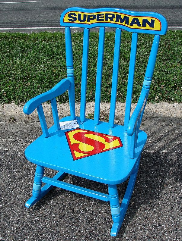 Beautiful Super Cool Painted Rocking Chair Pictures Gallery