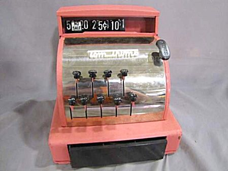 Old Fashioned Cash Tins