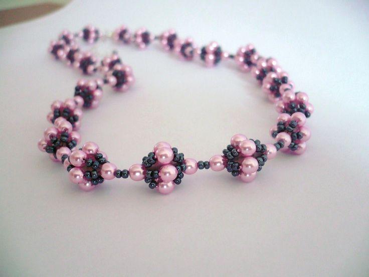 Handmade necklace/Handmade náhrdelník ...LENKA... www.anabelhandmade.sk