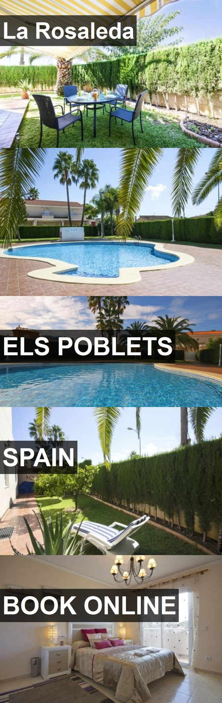 Hotel La Rosaleda in Els Poblets, Spain. For more information, photos, reviews and best prices please follow the link. #Spain #ElsPoblets #travel #vacation #hotel