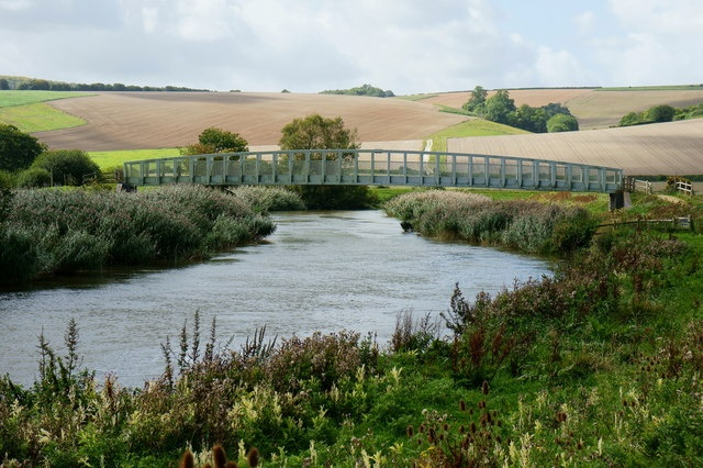 River Arun at Amberley, West Sussex.  Inspiration for a painting....