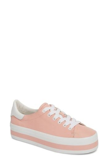 7f86fd7a4204 Free shipping and returns on Alice + Olivia Ezra Flatform Sneaker (Women)  at Nordstrom.com. A striped flatform sole highlights the sporty-chic  attitude of a ...