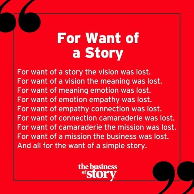 Inspired By One Of Parkhowell S Favorite Poems For Want Of A Nail Storytellingworkshop Storytelling Business Storytelling Storytelling Quotes Storytelling