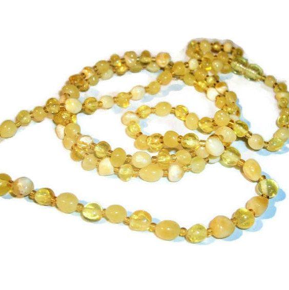 Set Baltic amber jewelry Amber necklace in Amber bracelet Yellow Natural stone necklace stone bracelet genuine Gemstone necklace for woman  https://etsy.me/2qaHSHs  ---------------------------------------------------- #ukraenie #minimalist #no #girls #belyj #eltyj